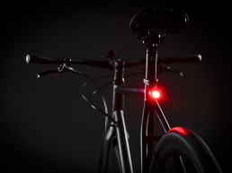Booda Bike Banker Alfine 8 gear hub bike belt driven rear light
