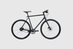 Booda Bike Banker - Belt driven alfine gear hub black bike