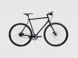 Booda Bike Banker - Belt driven alfine gear hub black bike