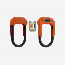 Hiplok DX bike lock orange sold secure gold