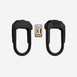 Hiplok DX bike lock u lock black sold secure gold