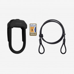 Hiplok DX+plus wearable u lock with cable booda bike