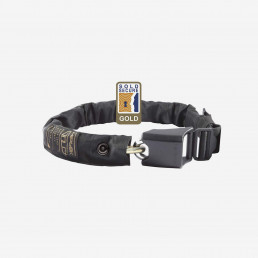 Hiplok Gold wearable chain lock security black