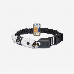 Hiplok Gold wearable chain lock security superbright