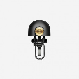 Spurcycle bell black loudest premium bike bell ever