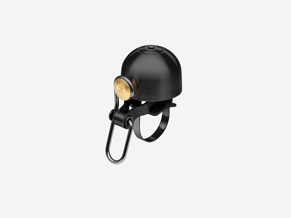 Spurcycle bell black loudest premium bike bell
