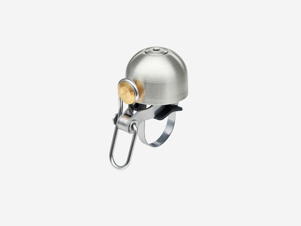 Spurcycle premium bike bell silver loudest bell