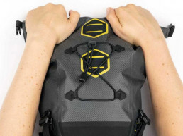 Apidura Expedition Saddle Pack roll up closure feature capacity