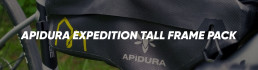 Apidura Expedition Tall Frame Pack Booda Bike header