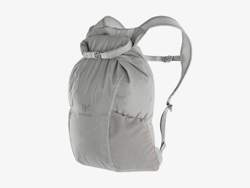 Apidura Packable Backpack 13 liter on body