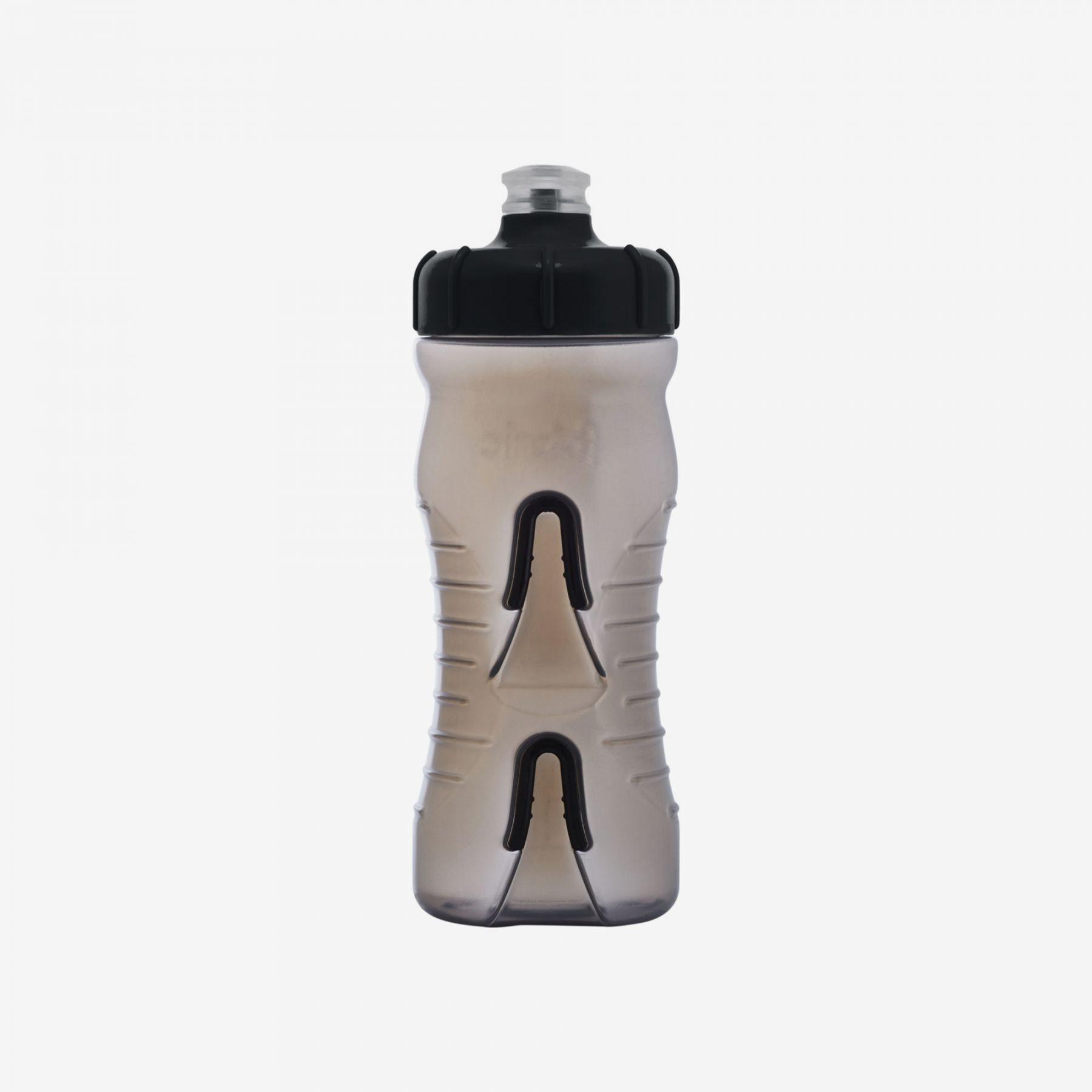 Fabric Cageless Bottle 600ml SmokeBlack