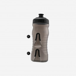Fabric Cageless bike Bottle 600ml SmokeBlack