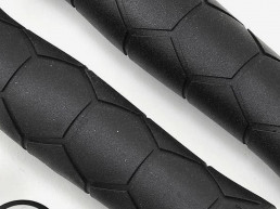 Fabric Semi Ergo bike silicon grip medical grade silicon