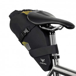 Apidura Racing Saddle Pack 5l on bike