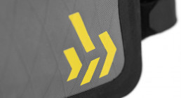 Apidura Backcountry Long Top Tube Pack reflective pattern 01