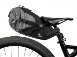 Apidura Backcountry Saddle Pack liter Premium Bikepacking fitting Optimised for bikes with limited rear wheel clearance