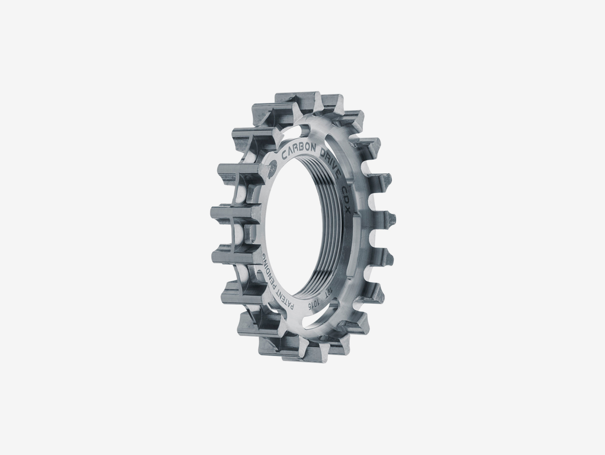 Gates CDX Rear Sprocket Fixie: Thread ON
