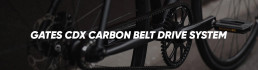 Gates Carbon Belt Drive System CDX Booda Bike Header