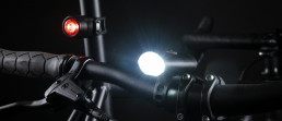 Possible Reflection Glow battery bicycle lamp lighting