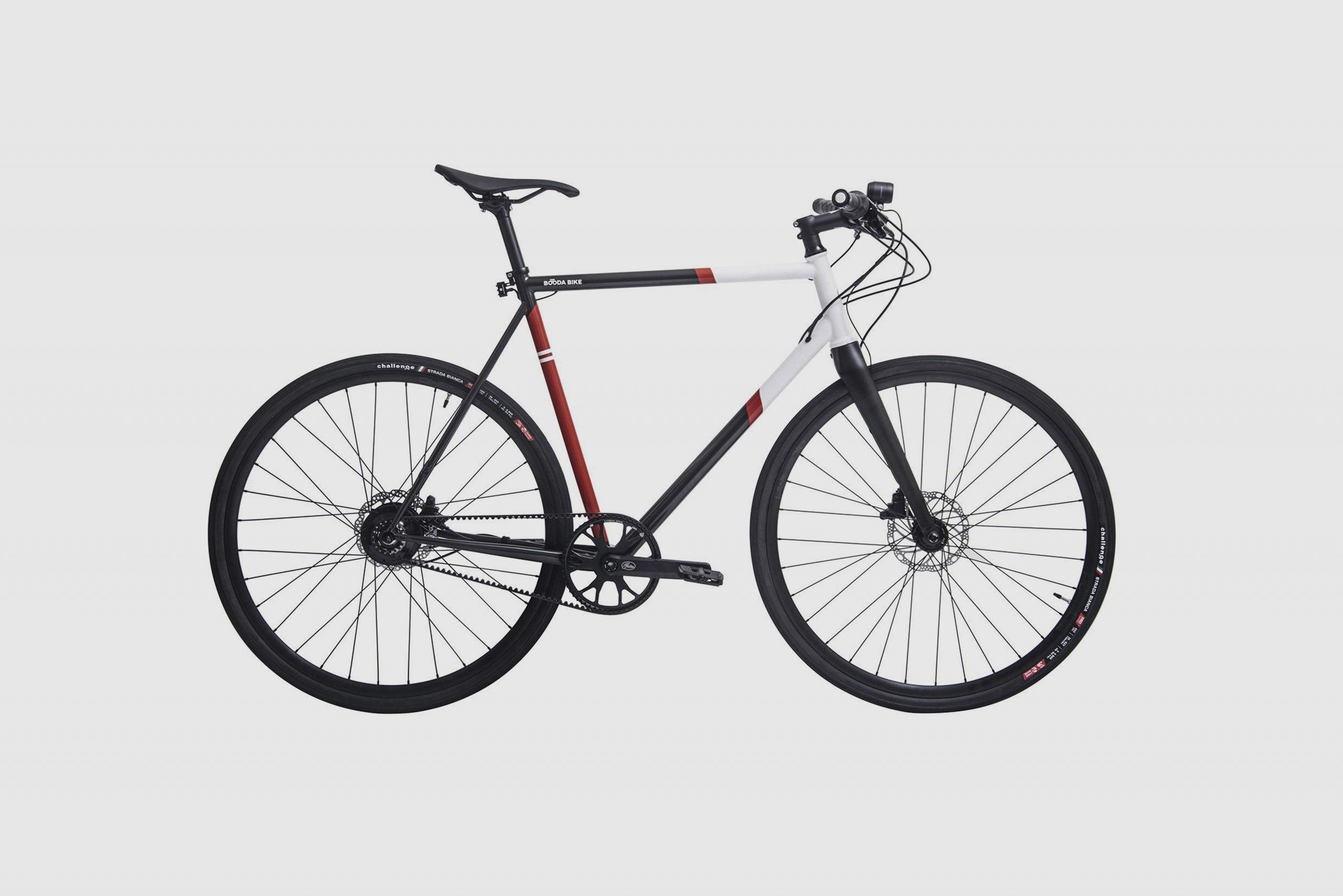 Booda Bike Pulse - Belt Driven Rohloff 14 Gear Hub premium Bike side view