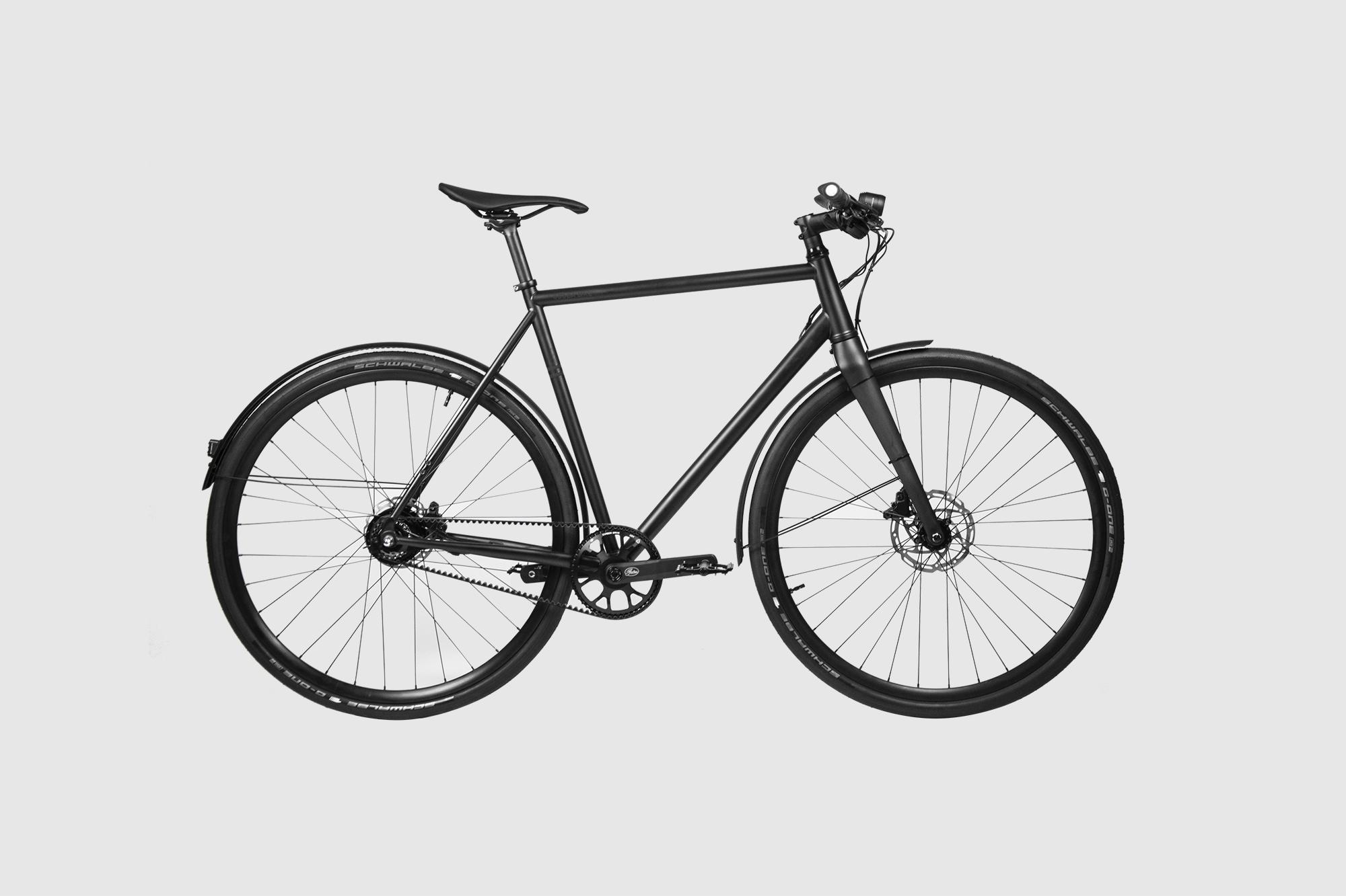 Booda Bike Tailor - Belt Driven Gear Hub premium Bike side view sml